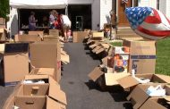Moving company & community collect supplies for Hurricane Harvey victims