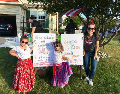 Dale City family hosting bake sales to raise funds for Puerto Rico