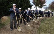 Governor, electeds break ground on upcoming veterans care center