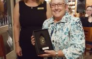 Holloway wins Occoquan's Walter D. Bailey volunteer award