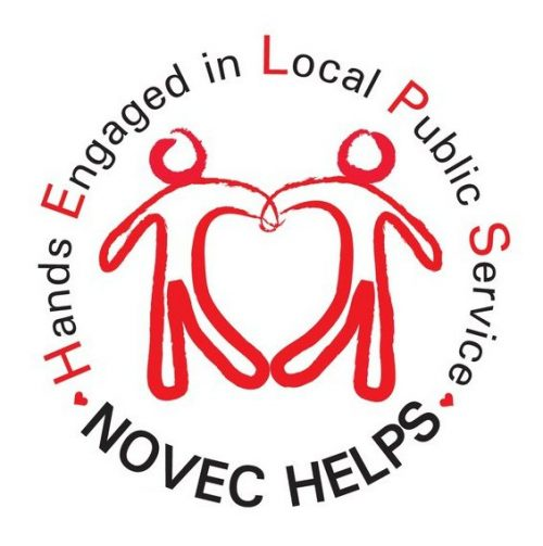 NOVEC HELPS collecting food for families for Thanksgiving holiday