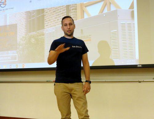Local businessman shares experiences, insight with NOVA Manassas students