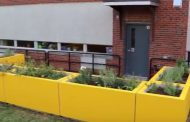 """Lowe's """"heroes"""" complete garden projects at Fred Lynn Middle in Woodbridge"""