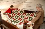 Prince William woman creates, donates quilt for Brentsville historic site