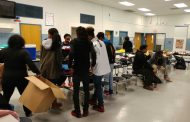 Boys & Girls Club youth hand out meals, coats to people in need