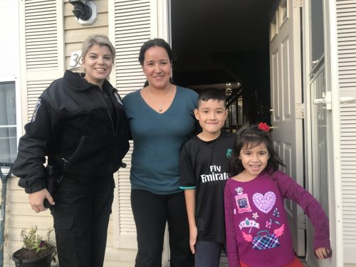 Dumfries police collecting Thanksgiving food for residents in need
