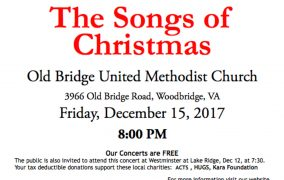 "Lake Ridge Chorale's ""The Songs of Christmas"" concert Dec. 15"