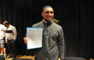 Hylton High football player signs with Penn State University