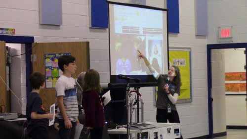 Lake Ridge students talk to NASA astronaut via ham radio