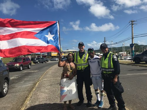 Prince William police share experiences from disaster relief trip to Puerto Rico
