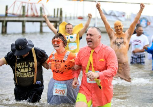 Dive in at the NOVA Polar Plunge Festival, Feb. 24 in Dumfries