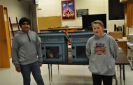 Prince William students work together to build Little Free Libraries