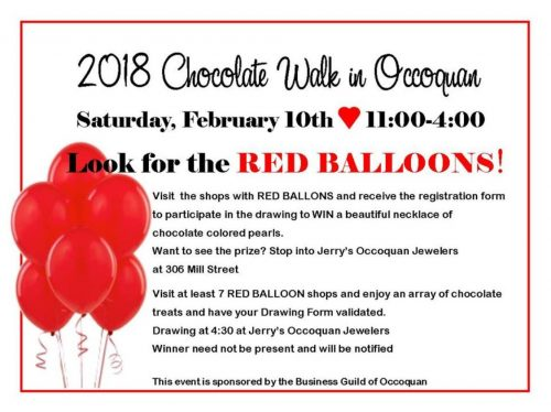 Fifth annual Chocolate Walk on Feb. 10