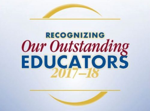 PWCS recognizes 'outstanding' educators in Manassas
