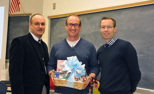 Robert Scott from Osbourn Park named PWCS Teacher of the Year