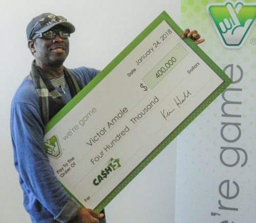 Woodbridge man wins $400K from Virginia Lottery
