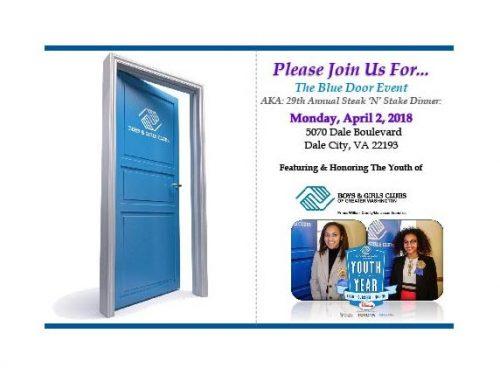 Boys & Girls Club Blue Door fundraiser slated for April 2