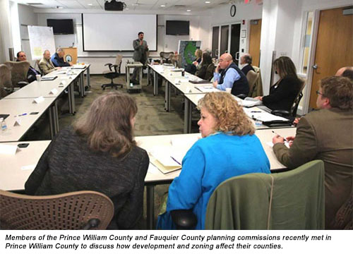 County officials discuss development, planning at meeting