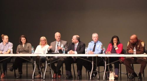 School safety discussion takes place at Colgan High School
