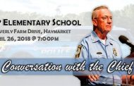 Chief Barry Barnard to host community conversation at Gravely Elementary