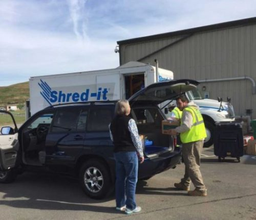 County holding document shred event, Nov. 3