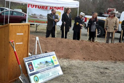 Officials break ground at new Nokesville fire station