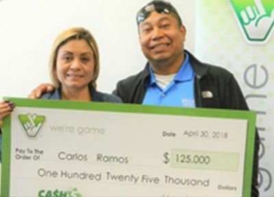 Gainesville man wins $125K from Virginia Lottery's 'Cash 5' game