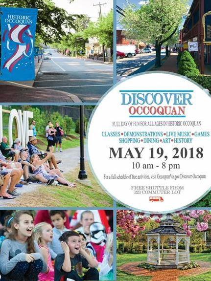 First annual Discover Occoquan scheduled for May 19