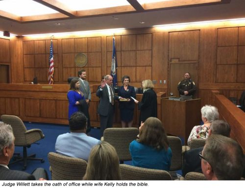 Prince William County's new Circuit Court Judge takes oath of office