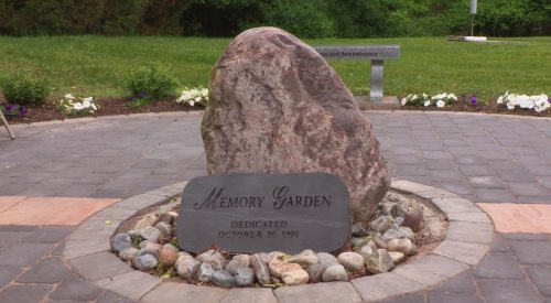 Memory garden dedicated to former Manassas Senior Center member