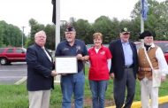 Sons of the American Revolution chapter recognizes VFW Post 1503