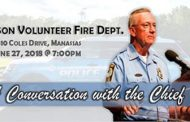 Chief Barry Barnard to host 'Conversation with the Chief,' June 27
