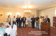 Montclair Lions Club members meet for Installation Dinner