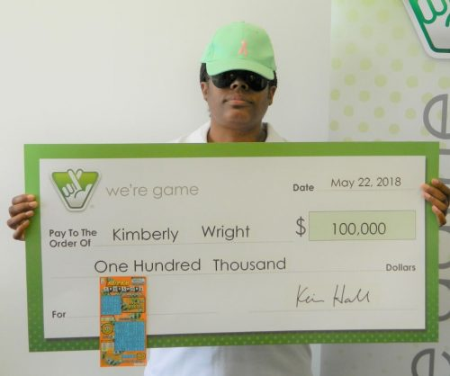 Dale City woman wins $100K from Virginia Lottery ticket