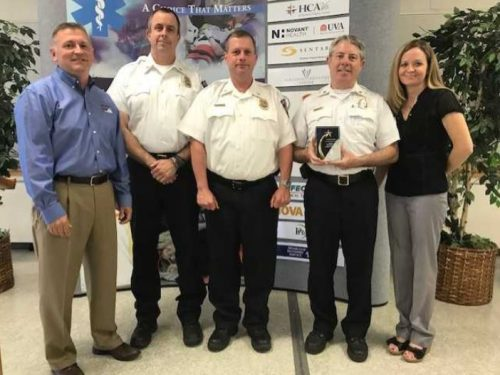 Department of Fire & Rescue receives 'Outstanding EMS Agency' award