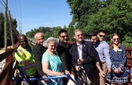 Powell's Creek Footbridge provides safer option for pedestrians, cyclists