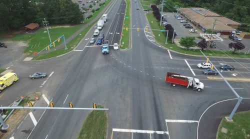 Additional left turn lane seeks to ease traffic on Route 234