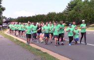 Torch run participants help kick off Special Olympics