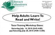 Woodbridge literacy program looking for volunteer tutors
