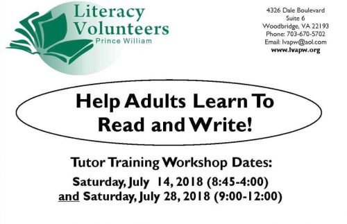 Woodbridge literacy program looking for volunteer tutors