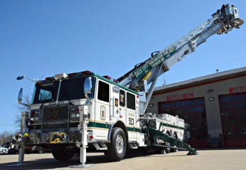 High school students learn the ropes at volunteer fire departments