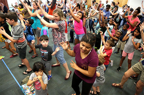 Program gets children dancing at Prince William libraries
