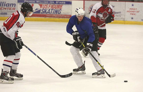 Prince William County Police Department wins annual charity hockey game