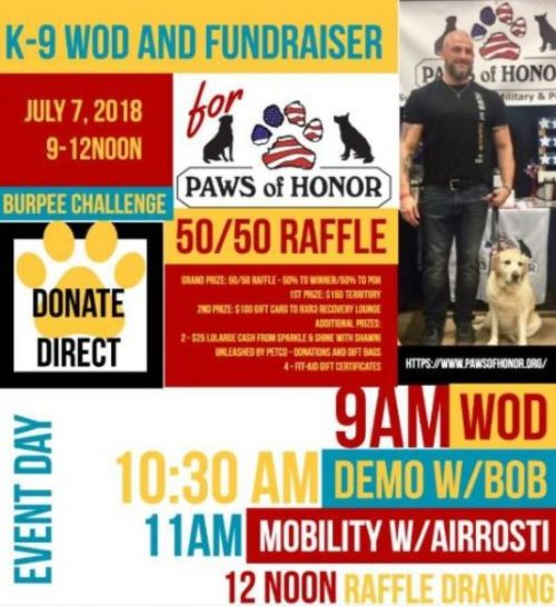 Charity event seeks to raise funds for retired military, law enforcement K9s