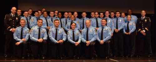 Twenty-two police officers graduate from academy