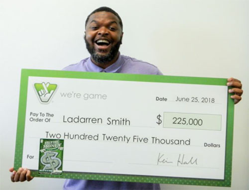 Woodbridge man wins $225K from Virginia Lottery