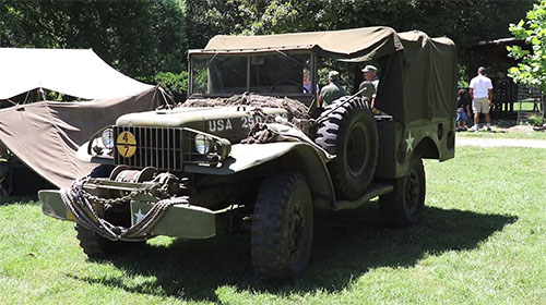 Historic Preservation Foundation holds World War II event in Woodbridge