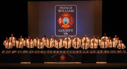 Department of Fire and Rescue holds recruit school graduation ceremony