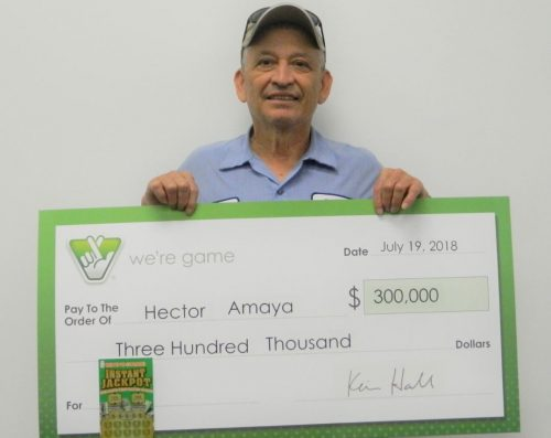 Woodbridge man wins $300K from Virginia Lottery 'Instant Jackpot' ticket