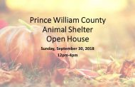 Animal Shelter Open House slated for September 30